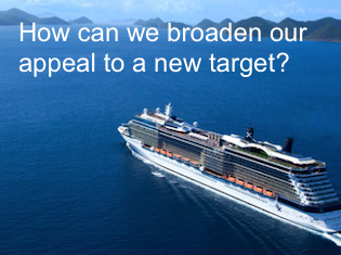 How can we broaden our appeal to a new target?